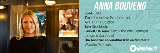 Information Anna Bouveng