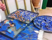 Kreativ mosaikkurs på Södermalm