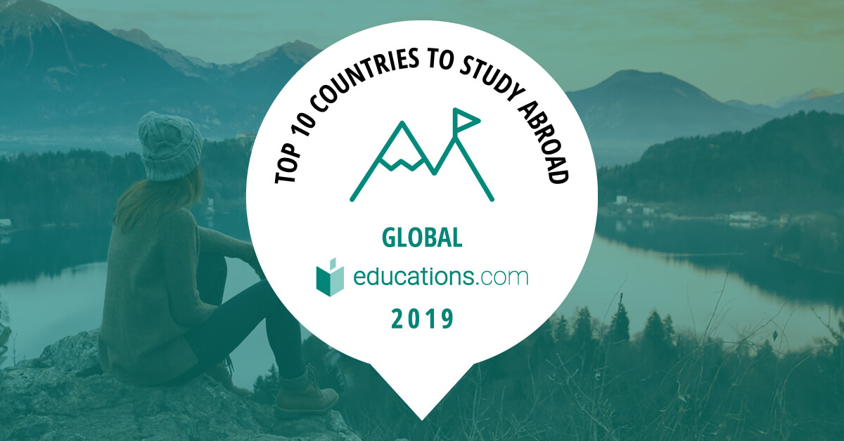Top 10 Study Abroad Countries in the World - 2019 Rankings