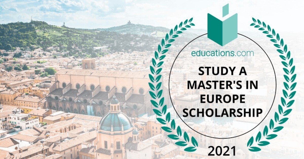 Study A Master S In Europe Scholarship 2021