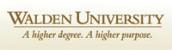 Walden Universiity - A higher degree, a higher purpose