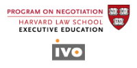 Ivo, in partnership with the Program on Negotiation at Harvard Law School