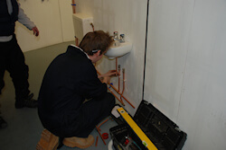 Able Skills plumbing course