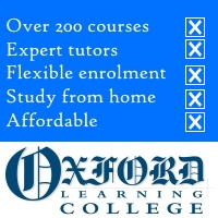 Enrol at any time; gain an international qualification