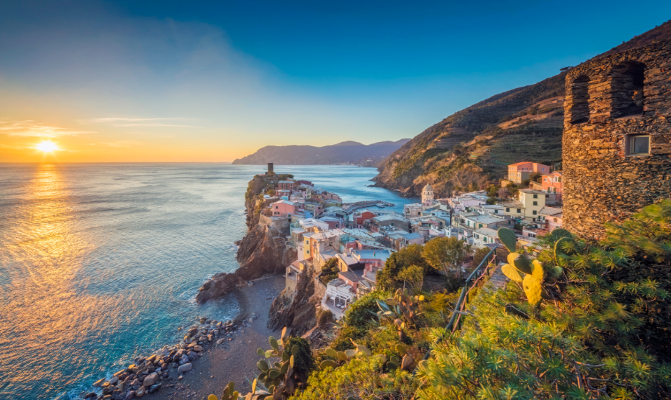 Vernazza at Sunset