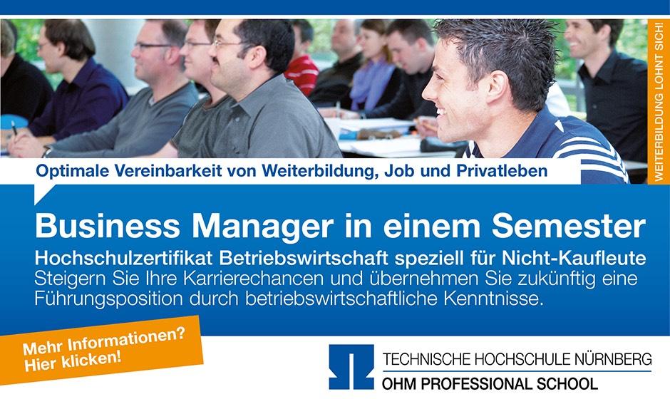 OHM Professional School, Technische Hochschule Nürnberg