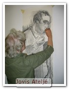 Akvarell - Nyb/Forts (eftermiddag)