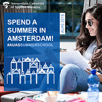 Spend your summer studying in Amsterdam!