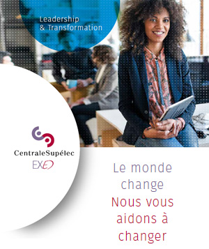 Catalogue de formation Leadership et Transformation de CentraleSupélec Exed