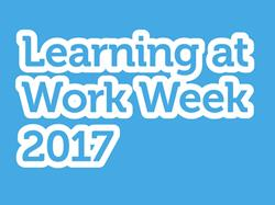 Join in Learning at Work Week 2017