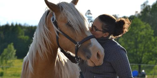 Moa och hennes häst