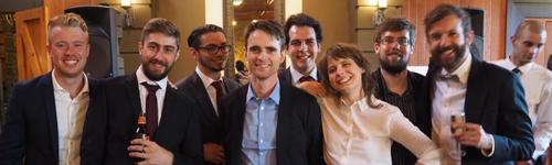 Jennifer och hennes kollegor i Melbourne