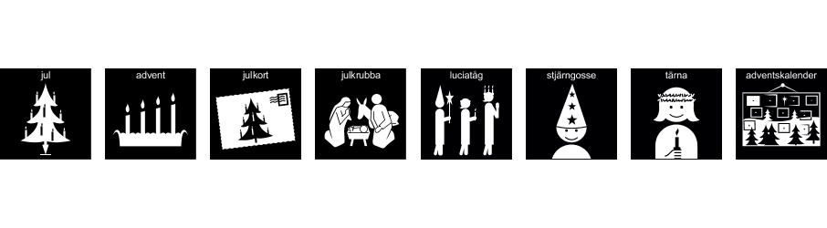 Nya Pictogram till Jul