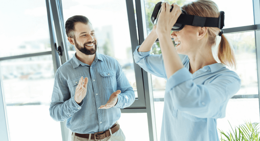 Training Employees with Virtual Reality