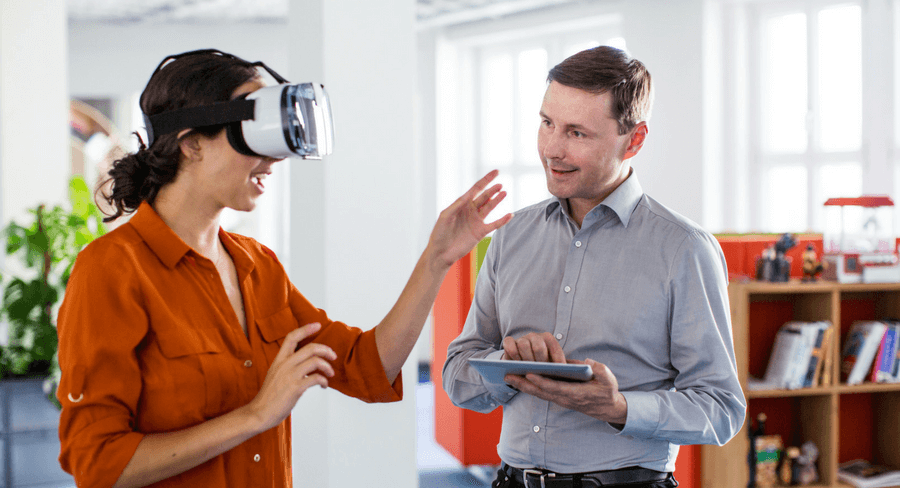 Using VR to train employees