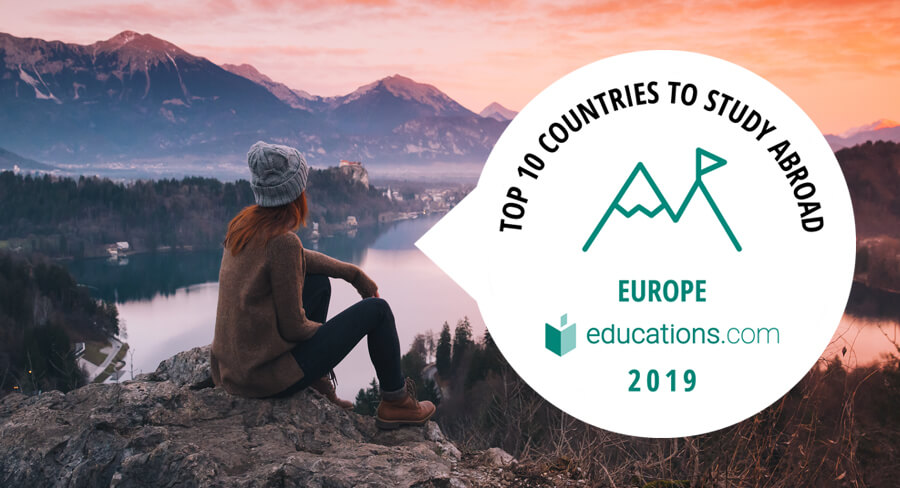 Top 10 countries to study abroad in Europe