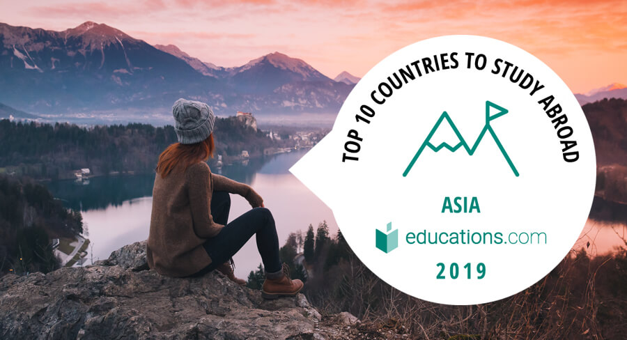 Top 10 countries to study abroad in Asia