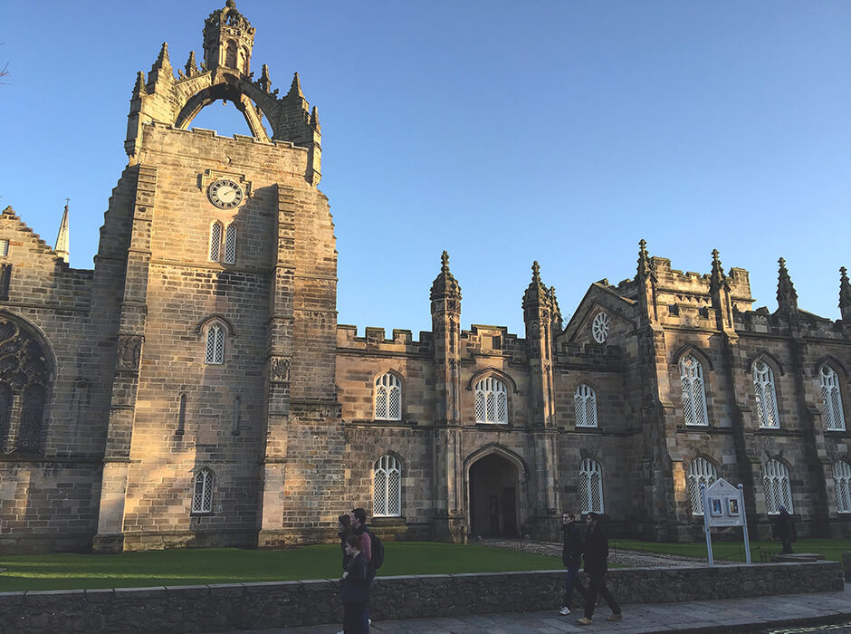 Opiskelu Skotlannissa