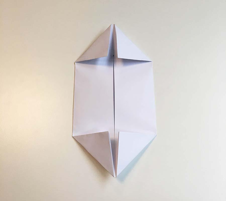 How to Make an Origami Dog-Origami Dog Folding Instruction | 800x900