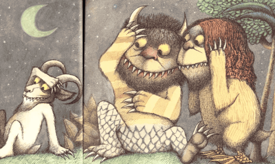 Illustration of the Wild Things