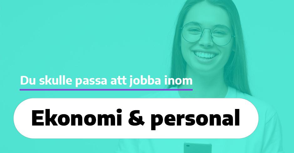 Ekonomi, organisation, personal