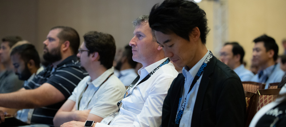 Participants at Machine Learning Week