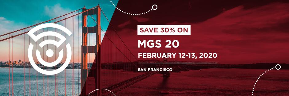 Save 30% on MGS20!