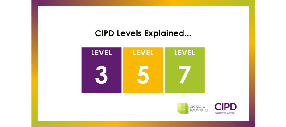 CIPD Levels 3, 5 and 7 explained