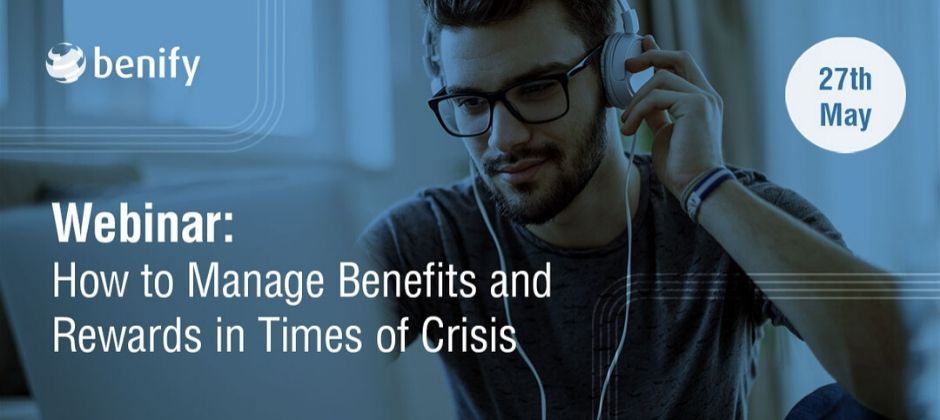 Webinar about rewarding employees in times of crisis