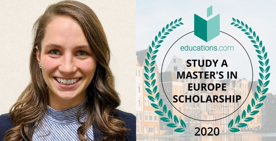 Lauren Jacobson - Winner of the 2020 Study a Master's in Europe Scholarship