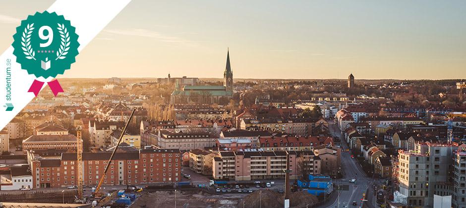 Linköping: Sveriges nionde bästa studentstad 2021