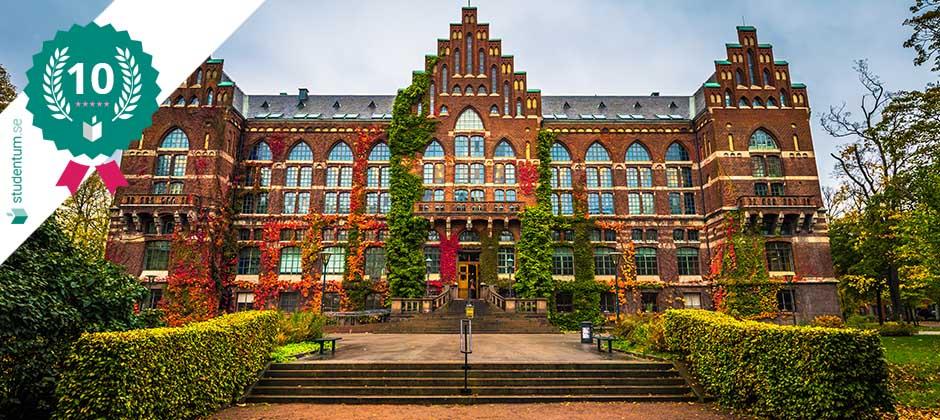 Lund är Sveriges tionde bästa studentstad 2021