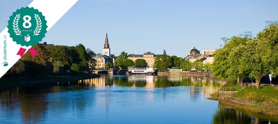 Karlstad är Sveriges åttonde bästa studentstad 2021