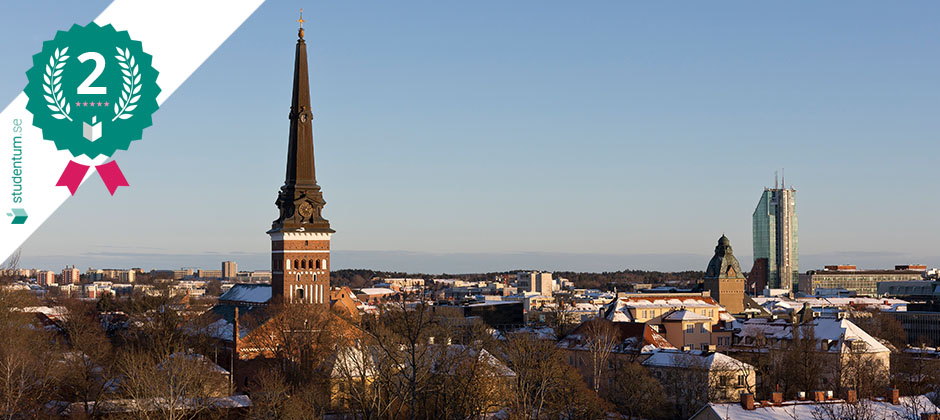 Västerås är Sveriges tredje bästa studenstad 2021