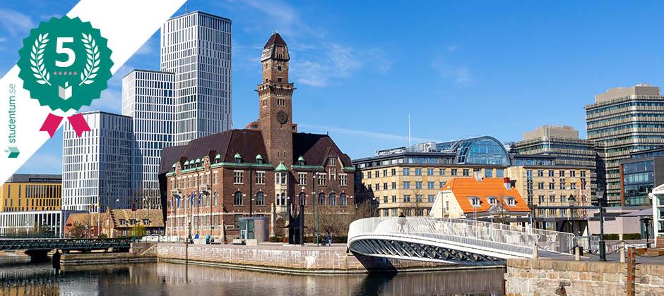 Malmö är Sveriges femte bästa studentstad 2021