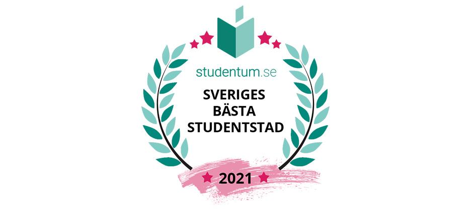 Om undersökning Sveriges topp 10 studentstäder