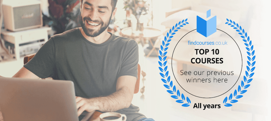 Top 10 Courses on findcourses.co.uk  - Previous Winners