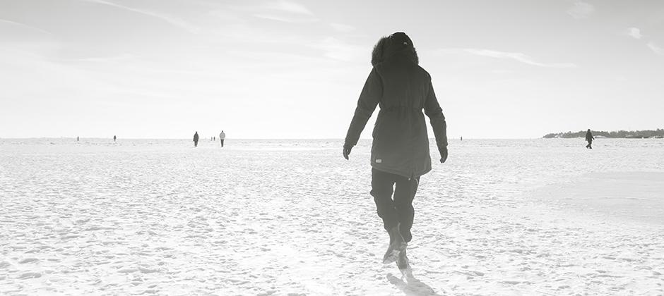 Walking on ice / Kuva: Joakim Honkasalo