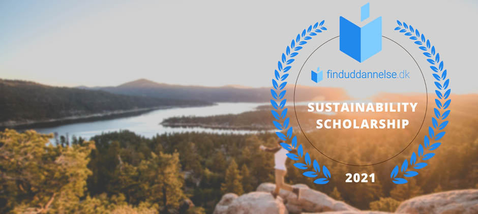 finalists of finduddannelse.dk's sustainability scholarship 2021