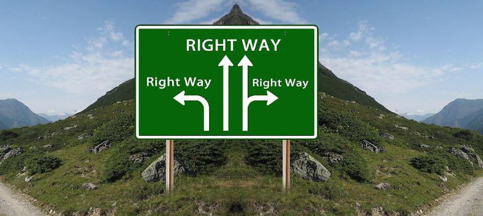 Die richtige Job-Entscheidung treffen