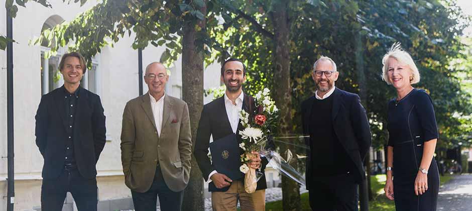 Vinnaren av MBA-stipendiet 2021