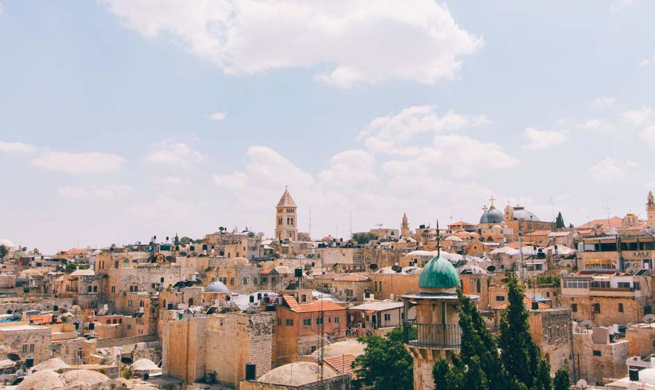 Skyline of Jerusalem, Israel