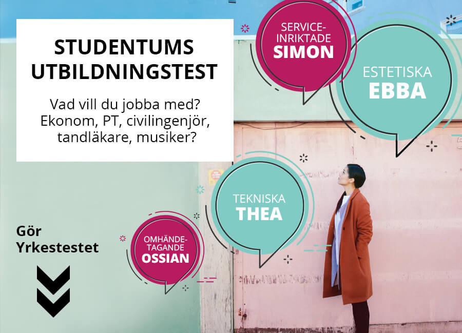 Studentums Yrkestest