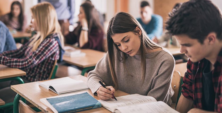 hvordan takle eksamensnerver