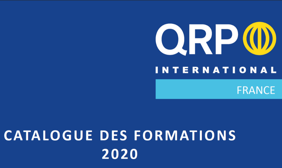 Catalogue de formation 2020