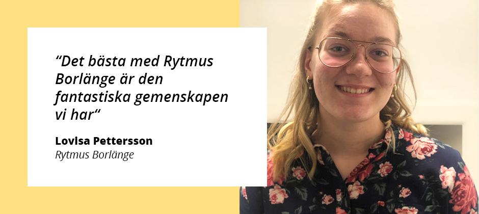 """""""Det bästa med Rytmus Borlänge är den fantastiska gemenskapen"""""""