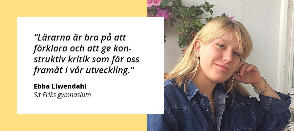 Kreativa Ebba läser Bild & formg...