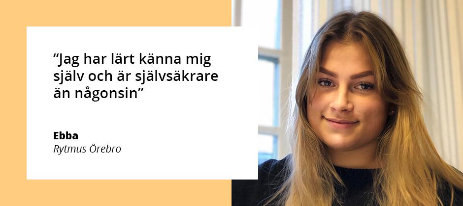 Ebba på Rytmus Örebro
