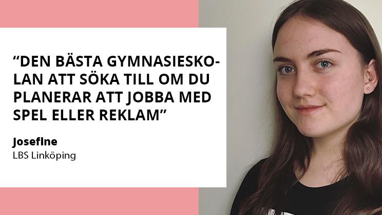 Josefine berättar om LBS Linköping