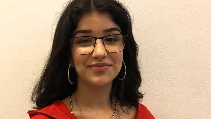 Möt Maryam från Ekonomiprogrammet